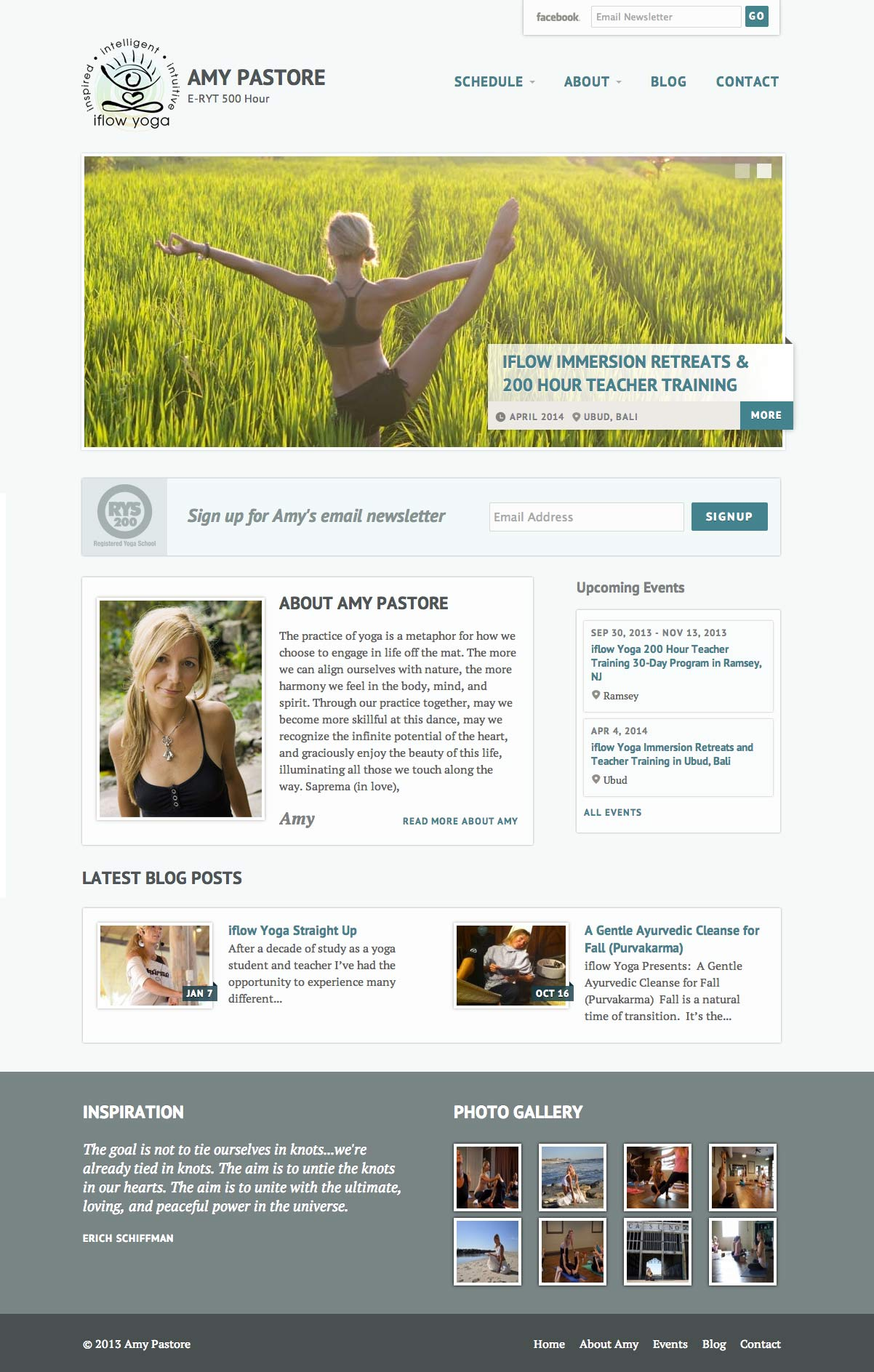 Amy Pastore Homepage