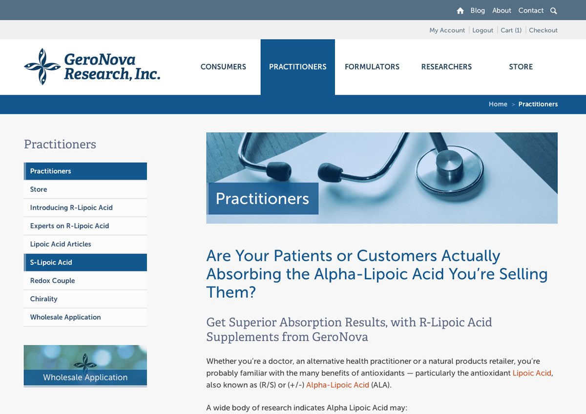 Practitioners Page